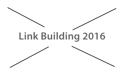 Link Building in 2016
