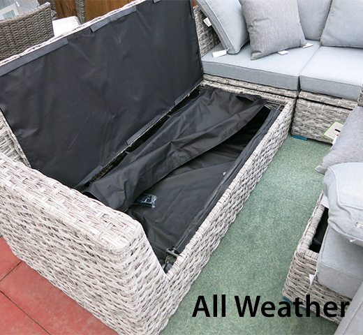 The best all weather furniture has storage